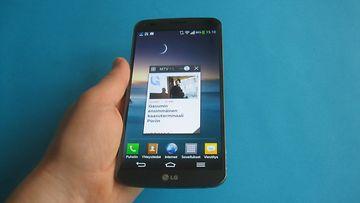 LG G Flex, kaarevalla näytöllä varustettu Android-puhelin