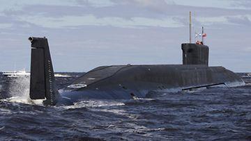 Venäjän uusin ydinsukellusvene Yuri Dolgoruki kuuluu neljännen sukupolven Borei -luokkaan. Yuri Dolgoruki teki koepurjehduksensa keväällä 2009. Kuva: Epa.