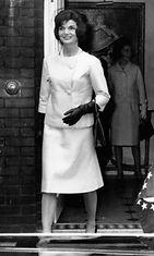 Jacqueline Kennedy vuonna 1961.