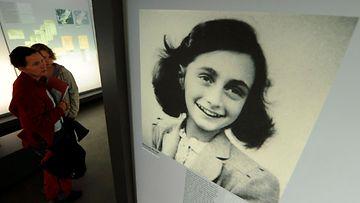 Anne Frankin valokuva.