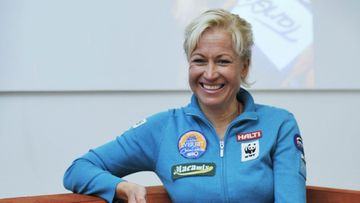 Ensimmäisenä suomalaisnaisena Mount Everestin valloittanut Carina Räihä
