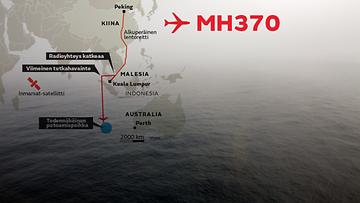 MH370 putoamispaikka