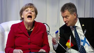 Niinistö ja Merkel