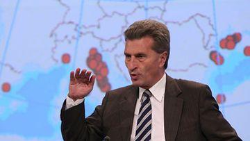 EU:n energiakomissaari Günther Oettinger