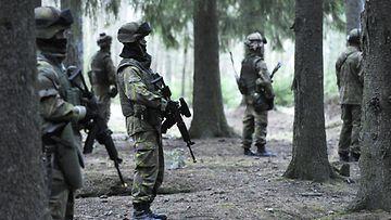 Sotaharjoitus marraskuu 2011