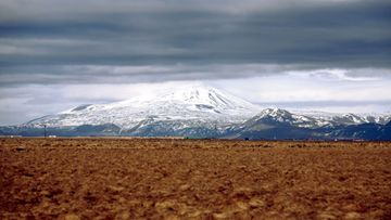 Lounais-Islannissa sijaitsee aktiivinen tulivuori Hekla.