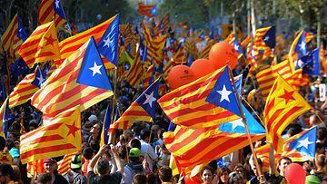 Espanja, Katalonia, lippu