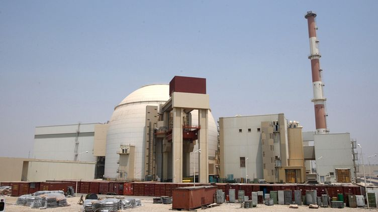 A file picture dated 21 August 2010 shows a general view of the Iranian nuclear power plant in Bushehr, southern Iran.