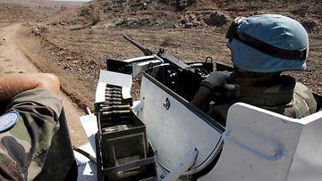 Ranskalaisia rauhanturvaajia partioimassa Etelä-Libanonissa.