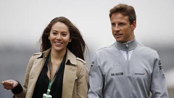 Jessica Michibata ja Jenson Button (3)