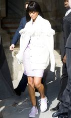 Rihanna, Paris Autumn Winter Fashion week 2014