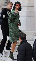 Rihanna, Stella McCartney Autumn/Winter 2014-15 fashion show, Pariisi