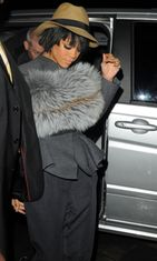 Rihanna, Lanvin Fashion Show, Pariisi