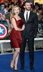 """Captain America: The Winter Soldier"" ensi-ilta Lontoossa, Scarlett Johansson ja Chris Evans"