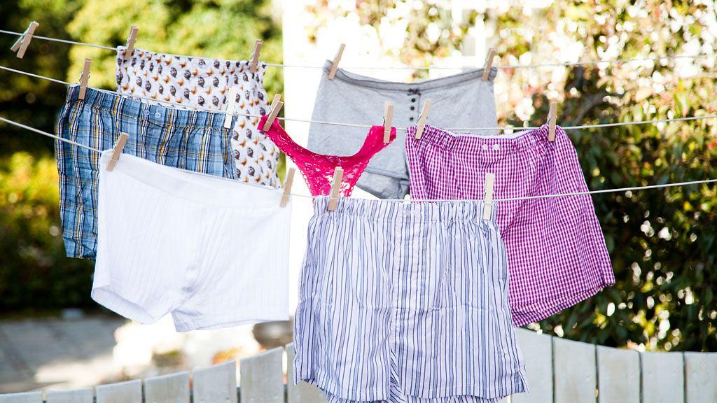 Paha haju vaatteissa pesun jälkeen