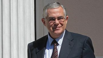 Kreikan uusi pääministeri Lukas Papademos.