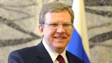 Russian Vice Premier and Finance Minister Aleksei Kudrin at Farnesina Palace in Rome, Italy on 16 February 2009.