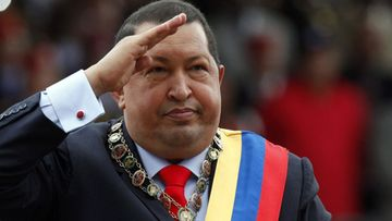 A file photo dated 04 February 2012 shows Venezuelan President Hugo Chavez saluting during a military parade at Paseo de los Heroes, in downtown Caracas, Venezuela. According to media reports on 05 March 2013, Venezuelan President Hugo Chavez was in critical condition after suffering a 'new and severe respiratory infection' two weeks after returning from Cuba where he underwent surgery in December, the government said.