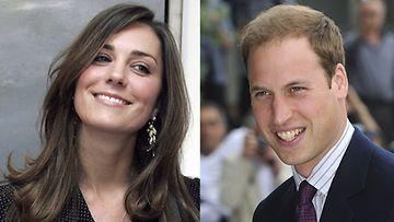 Prinssi William menee ensi vuonna naimisiin pitkäaikaisen  tyttöystävänsä Kate Middletonin kanssa.