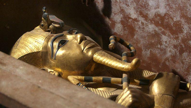 Farao Tutankhamonin sarkofagi.