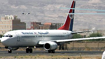 Yemenia Airways lentokone. Kuva: Epa