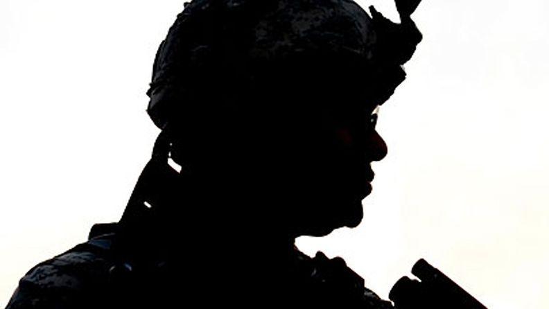 Kuvituskuva. Yhdysvaltain armeijan sotilas Afganistanissa.