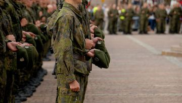 Kaartin Jääkärirykmentin heinäkuun saapumiserän (2/11) sotilasvala ja -vakuutus vannottiin Helsingin Senaatintorilla torstaina 18. elokuuta 2011.