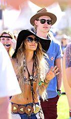 Vanessa Hudgens ja Austin Butler, Coachella 2014