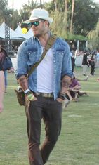 Kellan Lutz, Coachella 2014