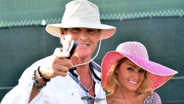 David Hasselhoff ja Hayley Roberts, Coachella 2014