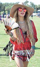 Vanessa Hudgens, Coachella 2014