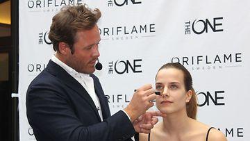 Oriflame Global Beauty Artistic Director Jonas Wramell