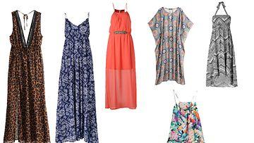 Kopioi tyyli! Mekot vasemmalta oikealle: H&M, Seppälä, ylärivin mekot H&M, Seppälä, alarivillä H&M