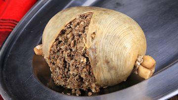 Haggis on skotlantilaisten perinneherkku.