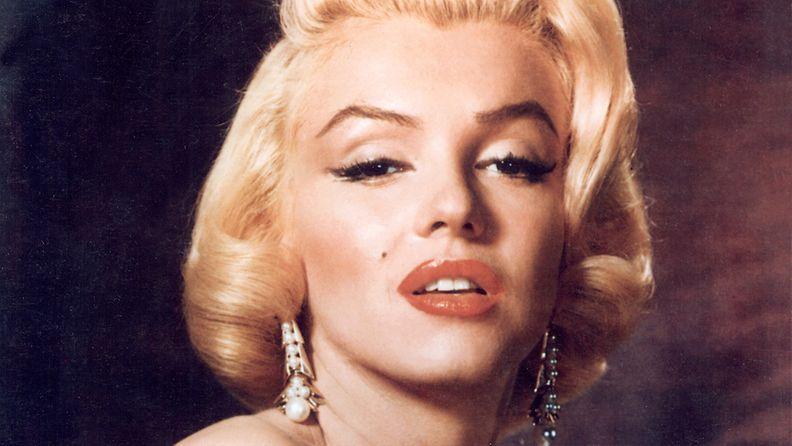 Marilynin punahuulet ovat kertakaikkisen unohtumattomat.