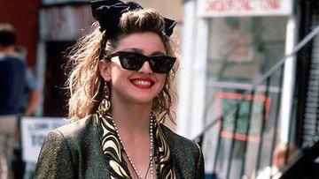 Madonnan tyyli on valloittavan rento elokuvassa Desperately seeking Susan.