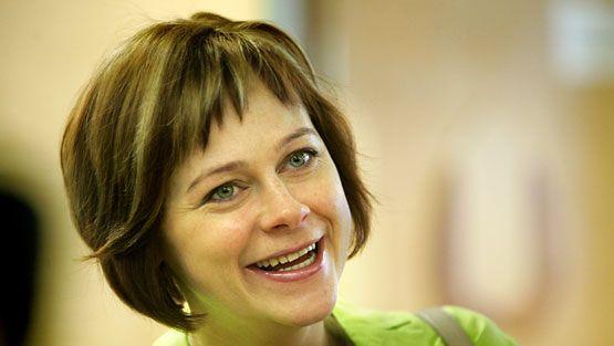Ympäristöministeri Paula Lehtomäki keskustan eduskuntaryhmän kesäkokouksessa Espoossa 27. elokuuta 2007.