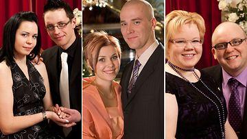 Maajussille morsian: Muistatko nämä avioituneet parit?
