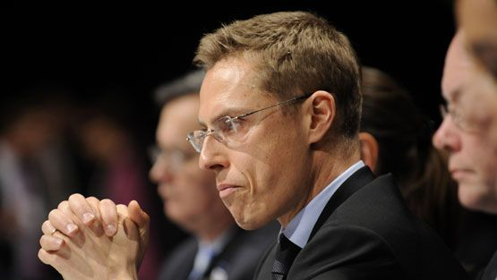 Suomen ulkoministeri Aleksander Stubb (kok.)
