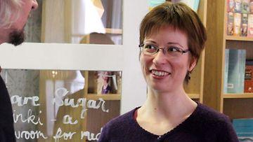 Kirjailija Janna Satri