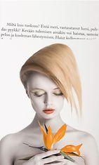 Kuvituskuva, lainaus Jaana-Mirjami Mustavuoren teoksesta Aistit auki! – Anna elämän koskettaa