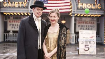 Broadwalk Empire, 2010: Steve Buscemi, Kelly Macdonald
