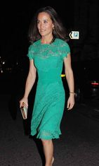 Pippa Middleton Trishna Indian restaurant -ravintolassa, 2014
