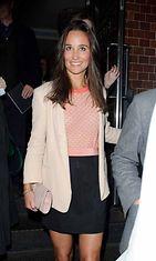 Pippa Middleton lähdössä Jamie Oliverin ravintolajuhlista, 2013