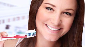 Ei pelkästään hampaille, vaan myös siivoukseen!