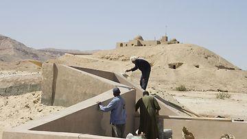 Haudan ulkopuoli. Kuva: Egyptin turistiministeriö