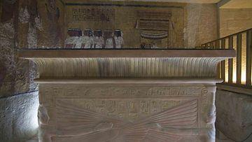 Sarkofagi. Kuva: Egyptin turistiministeriö
