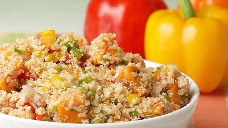 Kvinoan valmistus on helppoa ja nopeaa.