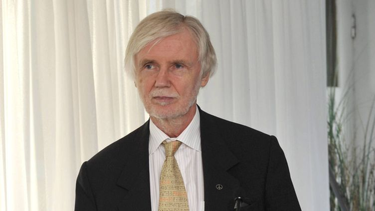 Erkki Tuomioja pictured during a press conference in Helsinki, Finland on Monday August 29, 2011.