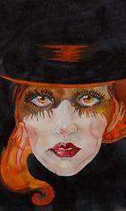 Nainen maalauksessa